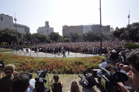 В итоге специализированной операции одного изтеррористов вБарселоне убили